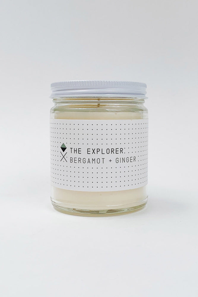 Explorer Glass Candle