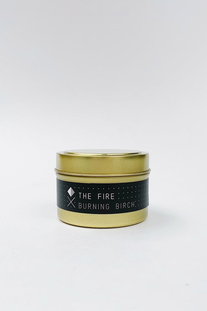 Fire Tin Candle