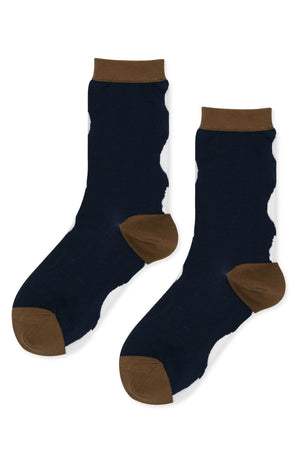 Gemini Sheer Crew Socks