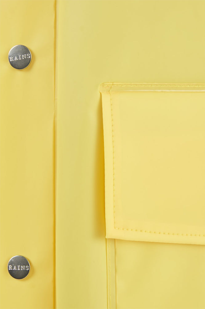 Load image into Gallery viewer, Hooded Coat - Foggy Yellow