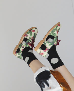 Load image into Gallery viewer, Papilio Vegan Cutout Oxford
