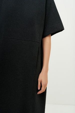 Load image into Gallery viewer, Linear T-Shirt Dress