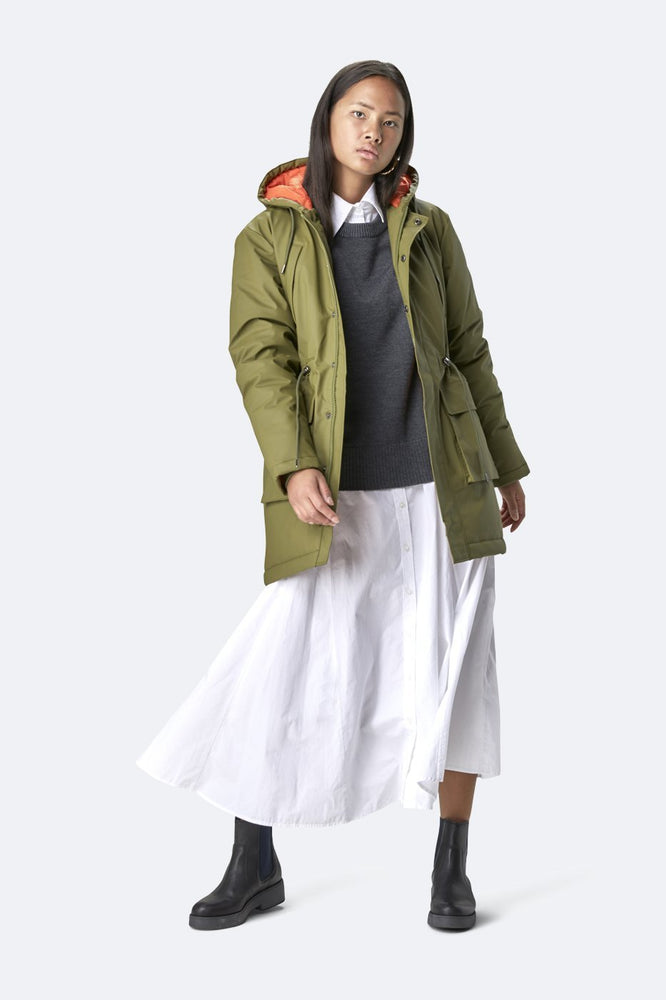 Load image into Gallery viewer, Padded Parka - Khaki