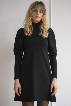 Load image into Gallery viewer, Puffed Sleeve Dress