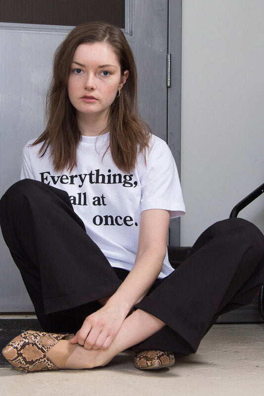 "T-shirt ""Everything"" Coût"