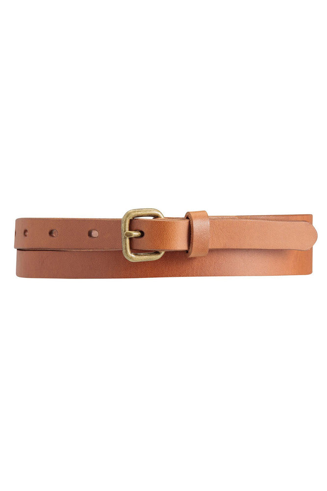 Only Lovers Left Leather Belt