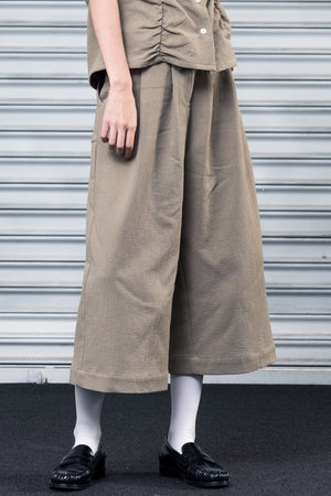 Load image into Gallery viewer, Cropped Wide Leg Pant