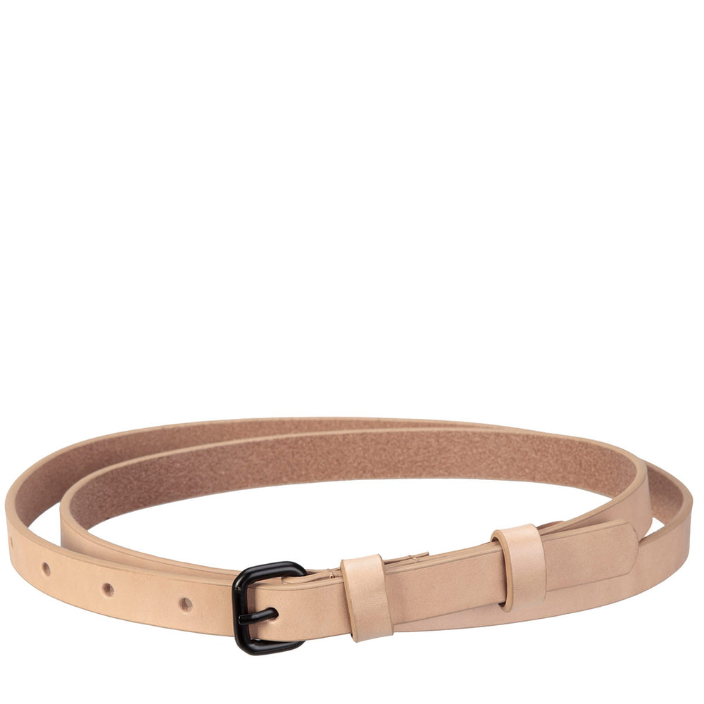 Never Never Leather Belt (2 colours)