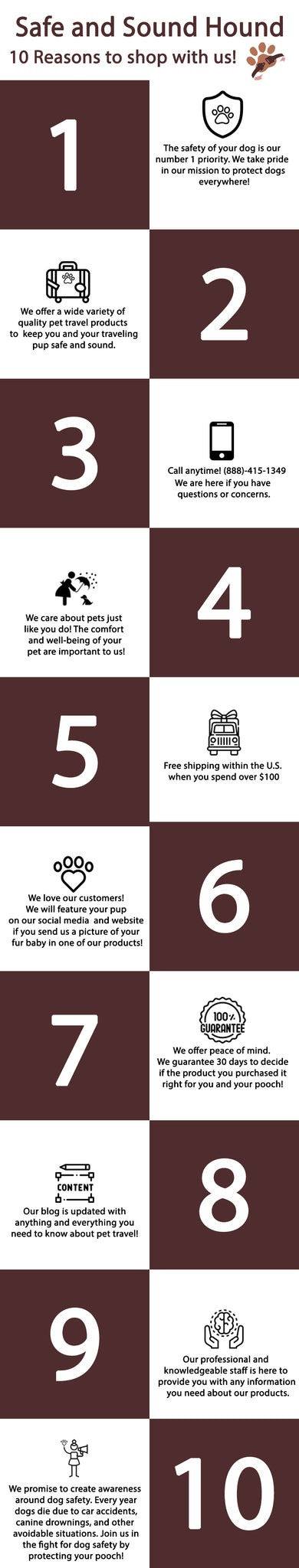 10 Reasons to Shop With Us