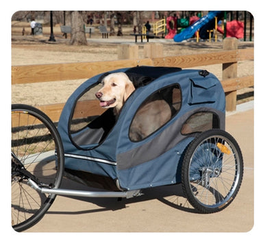 Dog Bicycle Trailer | 2017 Large Track'r Houndabout II