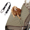 Quilted Dog Car Seat and Cover | For dogs of all sizes