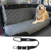 Dog Car Seat and Cover | Premium Bench Cover | For Dogs of All Sizes
