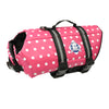Dog Life Jacket | Pink Polka Dot