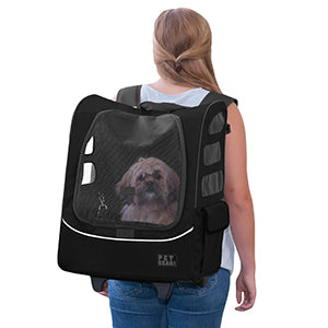 Dog Carrier and Car Seat | I-GO2 Traveler Plus | For Dogs 25lbs or Less