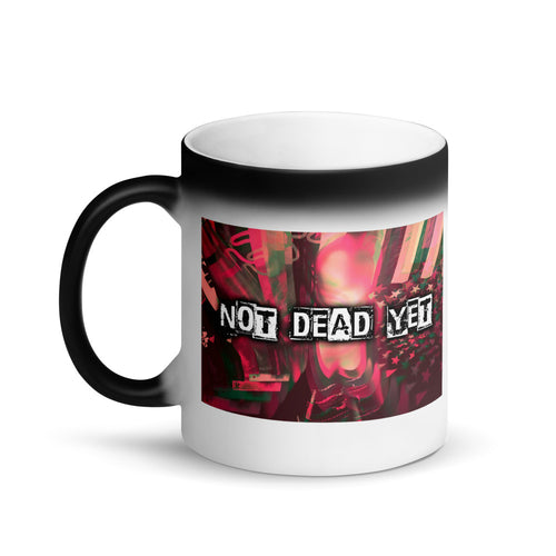 SA NOT DEAD YET Matte Black Magic Mug