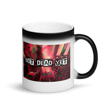 Load image into Gallery viewer, SA NOT DEAD YET Matte Black Magic Mug