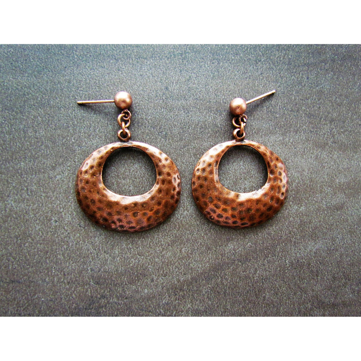 Fran Green Lyn B Copper Earrings