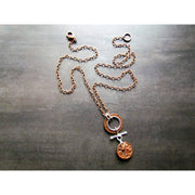 Fran Green Necklace - Moneta Copper