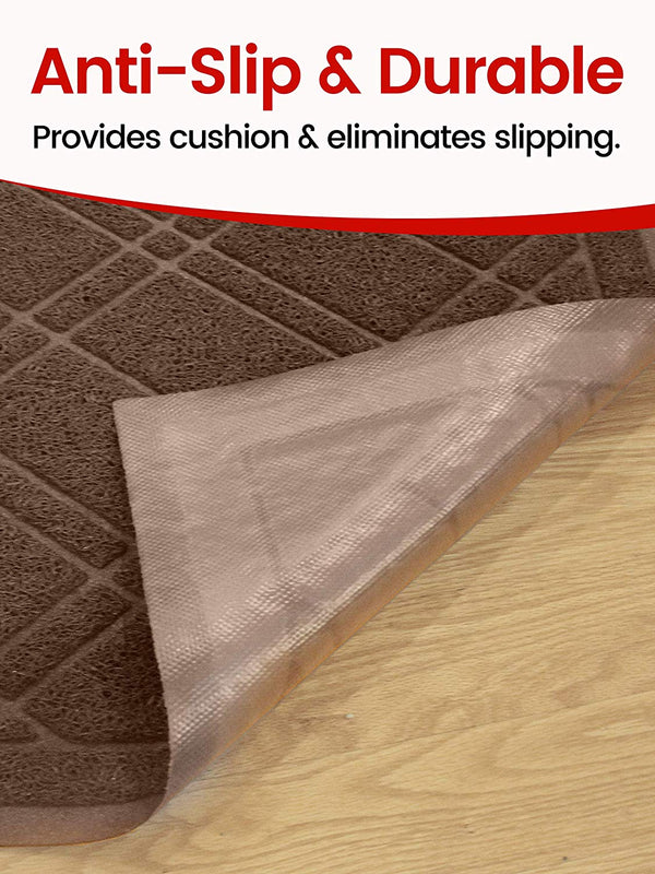 "SlipToGrip Universal Door Mat-35"" x 24""- Dirt and Dust Absorber"