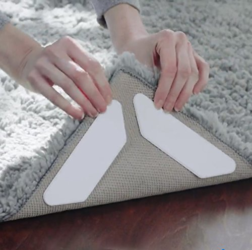 Anti Curling Premium Gripper-Flatten Rug For Corners & Edges