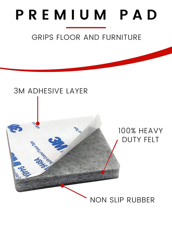 SLIPTOGRIP Premium Furniture Pads (24 Pcs)