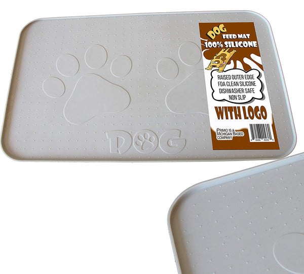 Silicone Dog Feeding Mat-With Paw Design