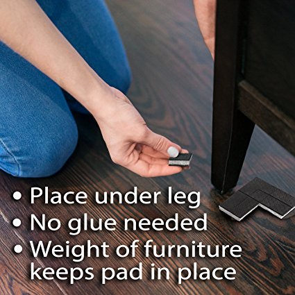 Furniture Square Pads-Helps Level Furniture