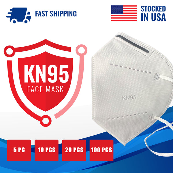 KN95 Disposable Foldable Face Mask