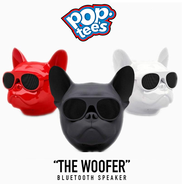 "Pop Tee's ""Woofer"" Bluetooth wireless speaker"