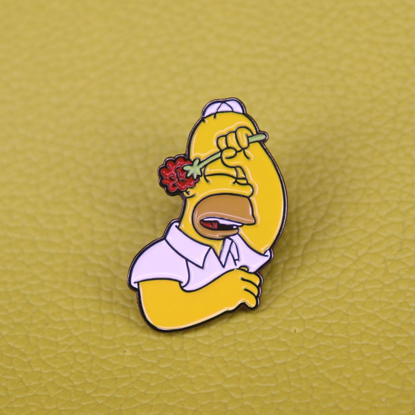 Simpsons Pin