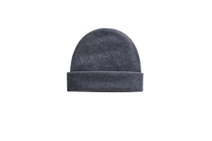 women cashmere beanie knit grey unisex