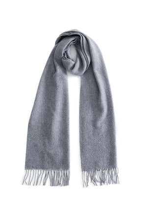 women men unisex cashmere scarf scarves grey