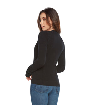 black women 100% cashmere v neck cardigan sweater
