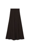 ESME A-line Skirt - Brown