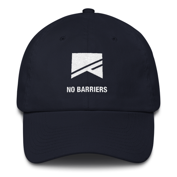 Cotton Ballcap - 10 Colors! - No Barriers Hats - Navy