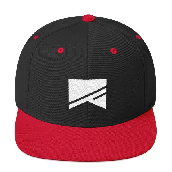 Snapback Hat - 19 Colors! - No Barriers Hats - Black/ Red