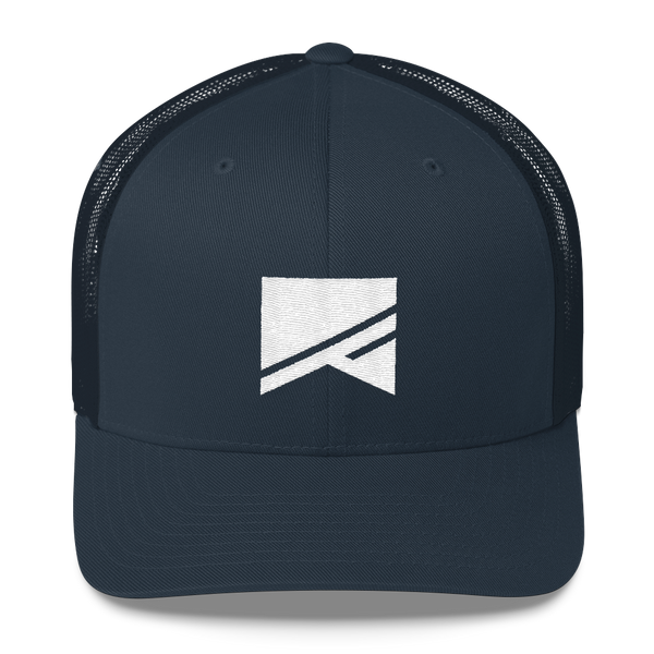 Trucker Cap - 5 Colors! - No Barriers Hats - Navy