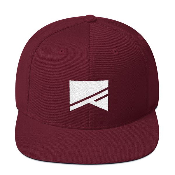 Snapback Hat - 19 Colors! - No Barriers Hats - Maroon