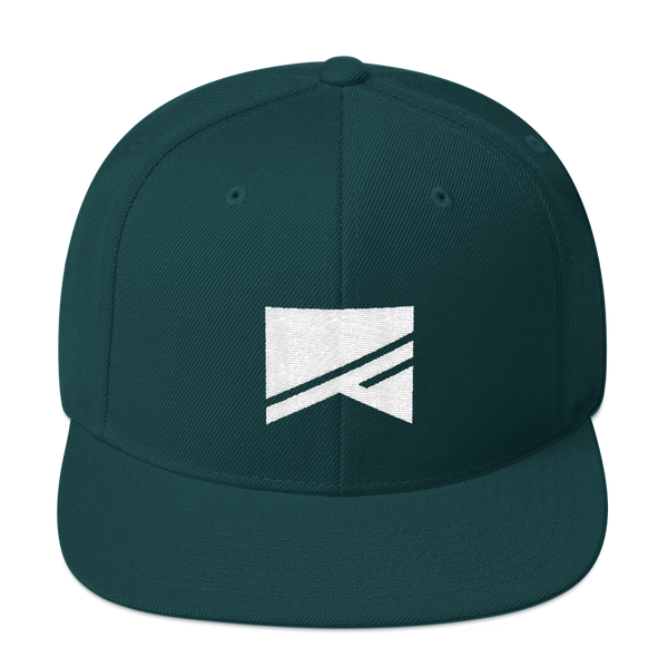 Snapback Hat - 19 Colors! - No Barriers Hats - Spruce