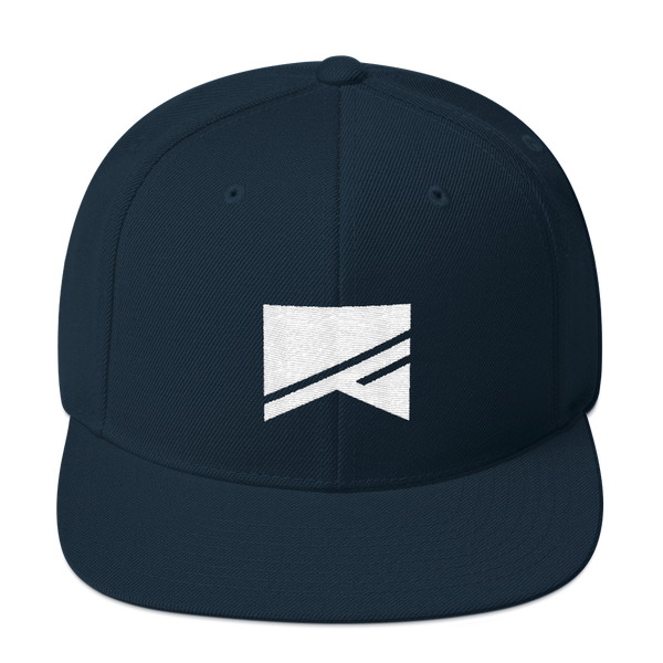 Snapback Hat - 19 Colors! - No Barriers Hats - Dark Navy