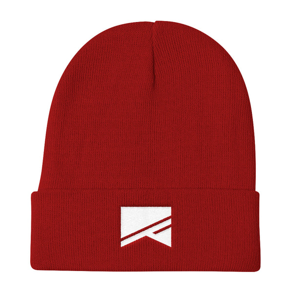 Knit Beanie - 6 Colors! - No Barriers Hats - Red