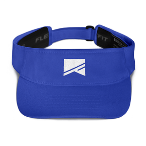 Sports Visor - 5 Colors! - No Barriers Hats - Royal