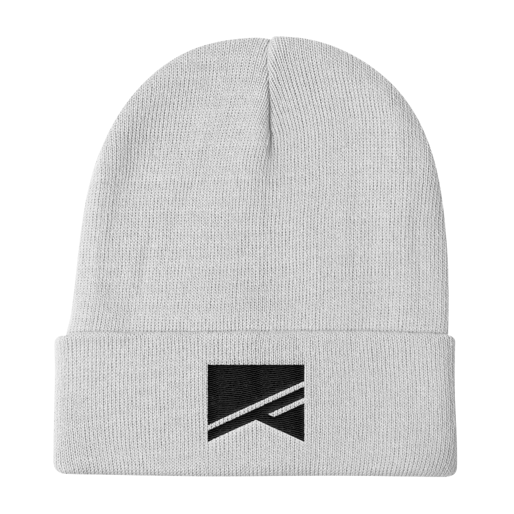 Knit Beanie - 6 Colors! - No Barriers Hats - White