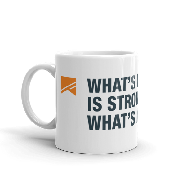 """What's Within You..."" Mug - 2 Sizes! - No Barriers Home -"