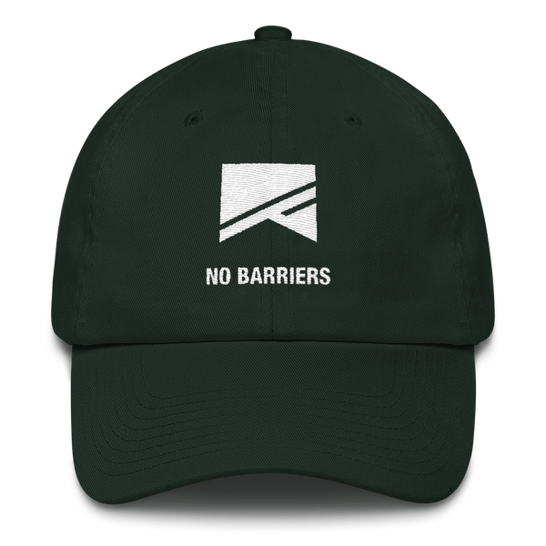 Cotton Ballcap - 10 Colors! - No Barriers Hats - Forest Green