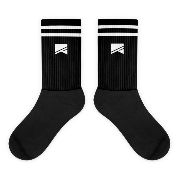 No Barriers Socks - No Barriers Accessories - M - Black