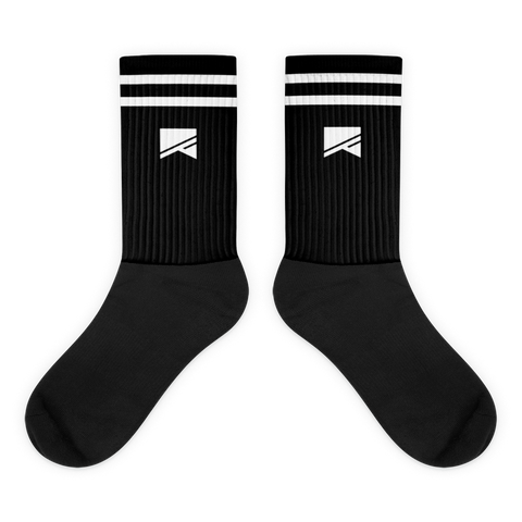 No Barriers Socks - No Barriers Apparel - M - Black