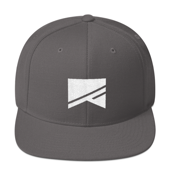 Snapback Hat - 19 Colors! - No Barriers Hats - Dark Grey
