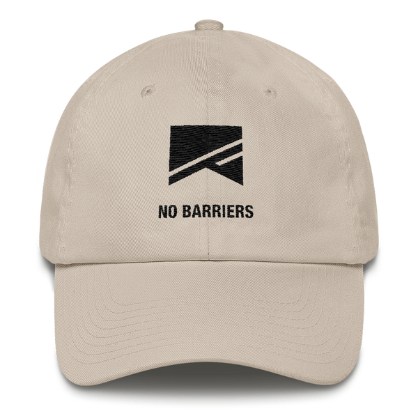Cotton Ballcap - 10 Colors! - No Barriers Hats - Stone