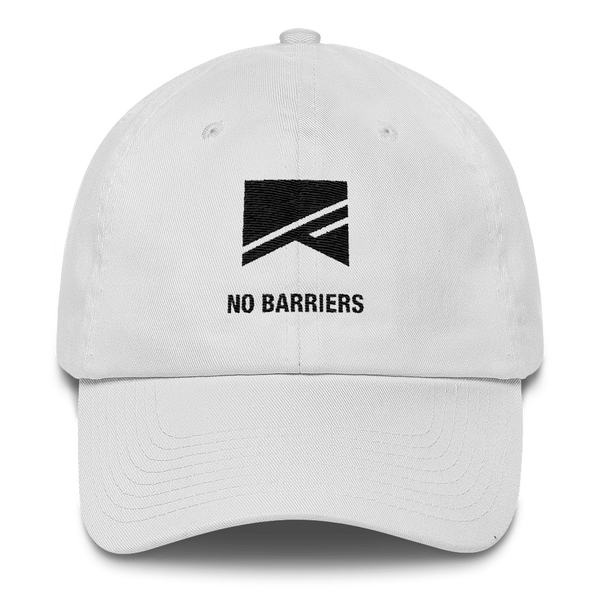 Cotton Ballcap - 10 Colors! - No Barriers Hats - White